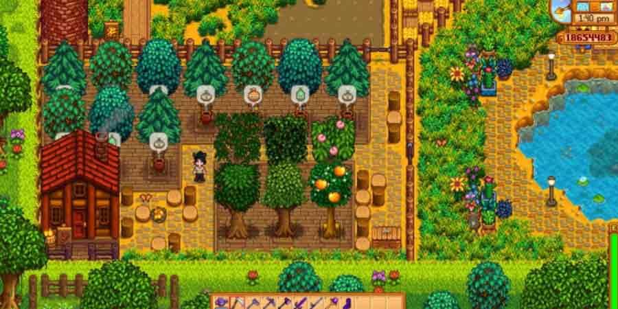 Farming in Stardew Valley