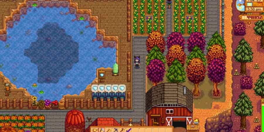 Plant Trees in Stardew Valley